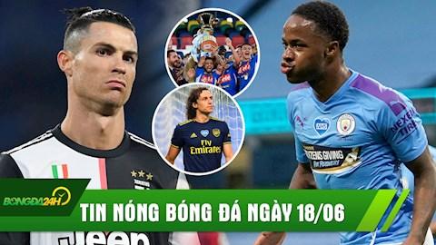 TIN NÓNG BÓNG ĐÁ 186 Ronaldo im tiếng, Juve mất chức vô địch hình ảnh