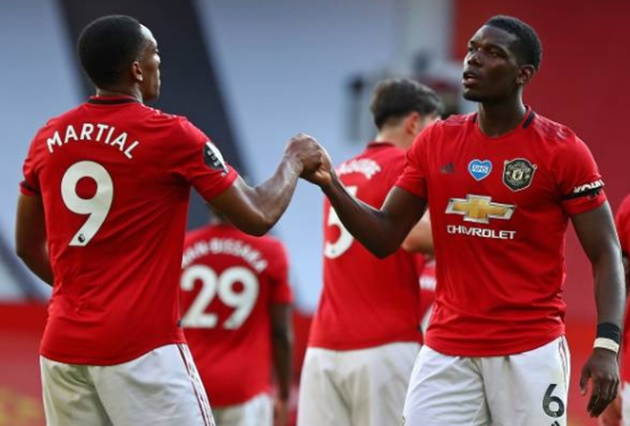 Anthony Martial steals Pogba solo and forgets match ball after scoring first hat-trick for Man Utd - Bóng Đá