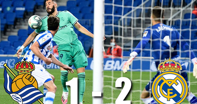 Ket qua bong da, Sociedad vs Real Madrid, VAR, Ramos, Real Madrid, Barcelona, Kqbd, kết quả bóng đá, Real Madrid đấu với Sociedad, kết quả La Liga, bong da, BXH La Liga, Benzema