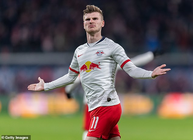 Leipzig boss Julian Nagelsmann says Timo Werner is still in his ...