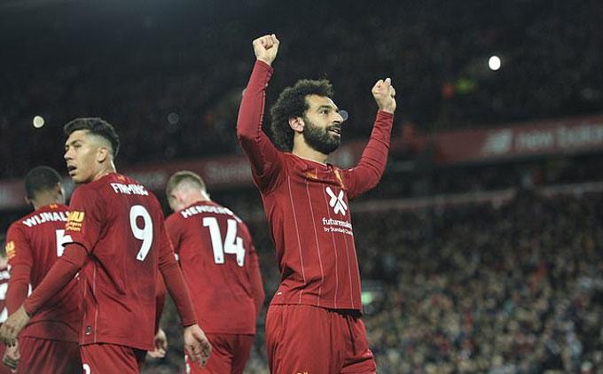 Salah ghi bàn quyết định cho Liverpool trước Tottenham