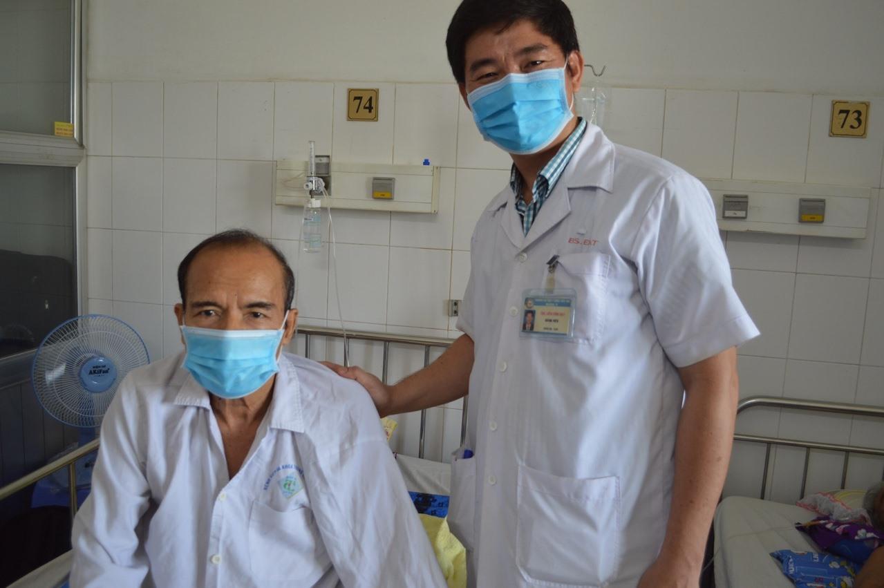 Hiện tại sức khỏe bệnh nhân đã được ổn định. Ảnh: Bệnh viên cung cấp.