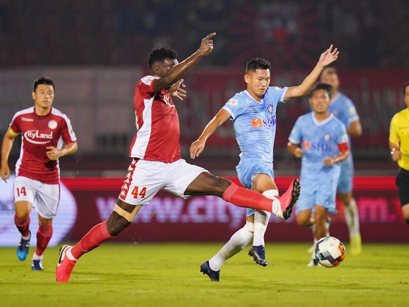 V-League 2020, TP.HCM 2-2 Đà Nẵng: 5 phút cuối điên rồ trên sân Thống Nhất - ảnh 7