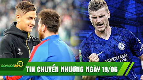 Diem tin chuyen nhuong 19/6: Chelsea chinh thuc co Timo Wener