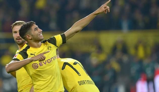 Dortmund still in Hakimi talks with Real Madrid, says Zorc - Bóng Đá