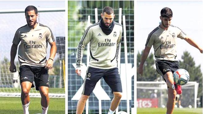Bong da, Tin tuc bong da, Tin bóng đá, Real Madrid, Hazard, Benzema, Asensio, bóng đá, bóng đá Tây Ban Nha, La Liga, Zidane, lịch thi đấu La Liga, La Liga trở lại
