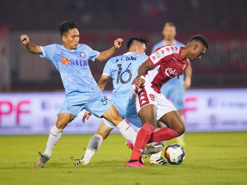 V-League 2020, TP.HCM 2-2 Đà Nẵng: 5 phút cuối điên rồ trên sân Thống Nhất - ảnh 3