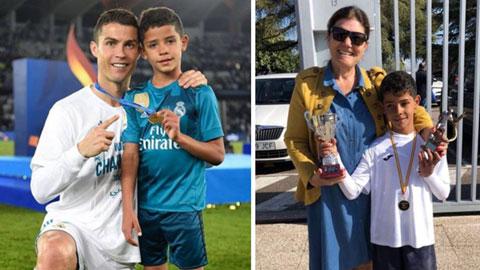 Ronaldo và mẹ viết tâm thư cảm động mừng sinh nhật Cristiano Jr