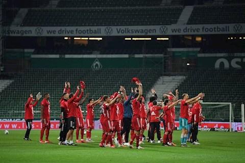 Bayern an mung tren san khong khan gia