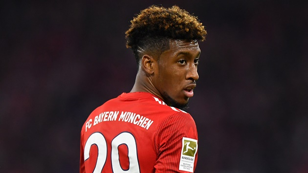 Kingsley Coman has rejected a move to Manchester City - Bóng Đá