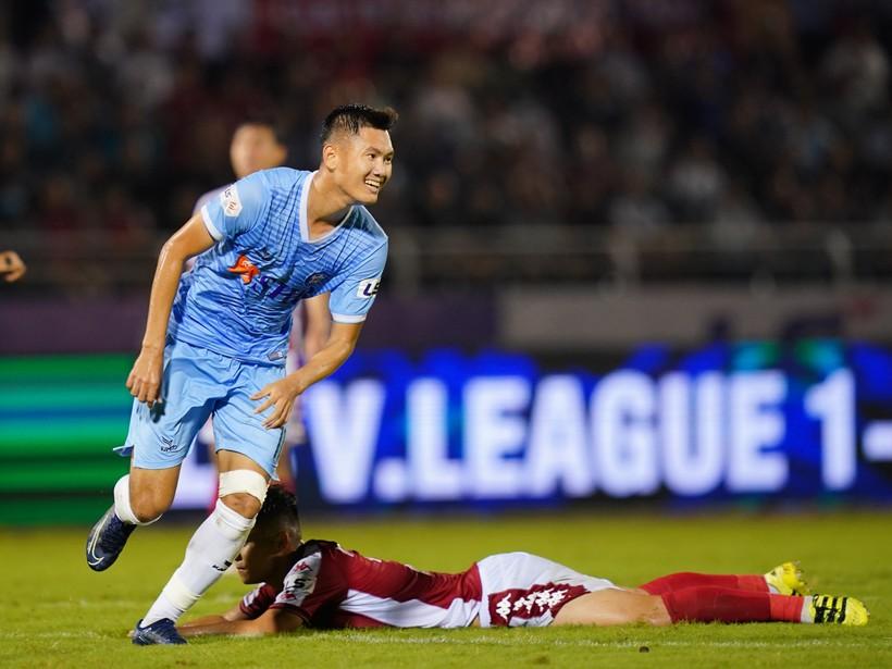 V-League 2020, TP.HCM 2-2 Đà Nẵng: 5 phút cuối điên rồ trên sân Thống Nhất - ảnh 5
