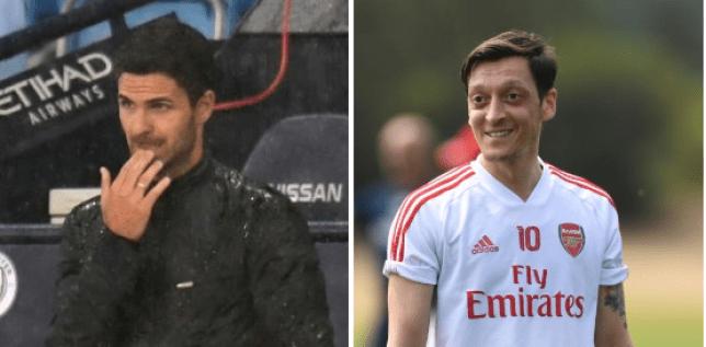 Mikel Arteta explains why he axed Mesut Ozil from Arsenal squad vs Man City - Bóng Đá