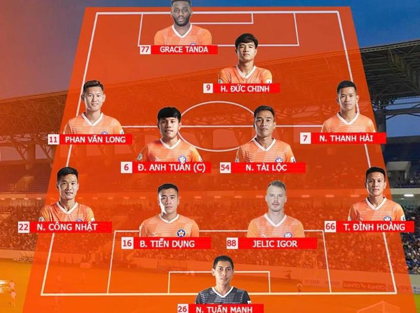 V-League 2020, TP.HCM 2-2 Đà Nẵng: 5 phút cuối điên rồ trên sân Thống Nhất - ảnh 2