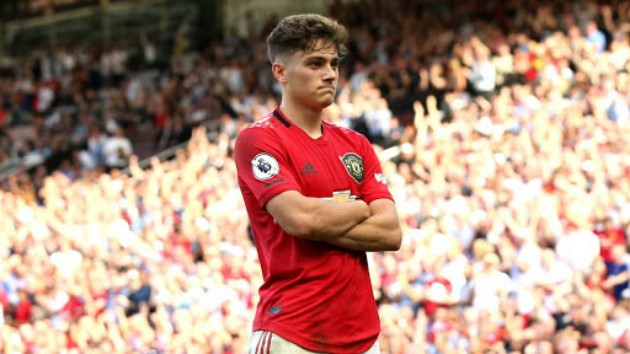 Greenwood and Daniel James will play off position when Sancho joins Man utd - Bóng Đá