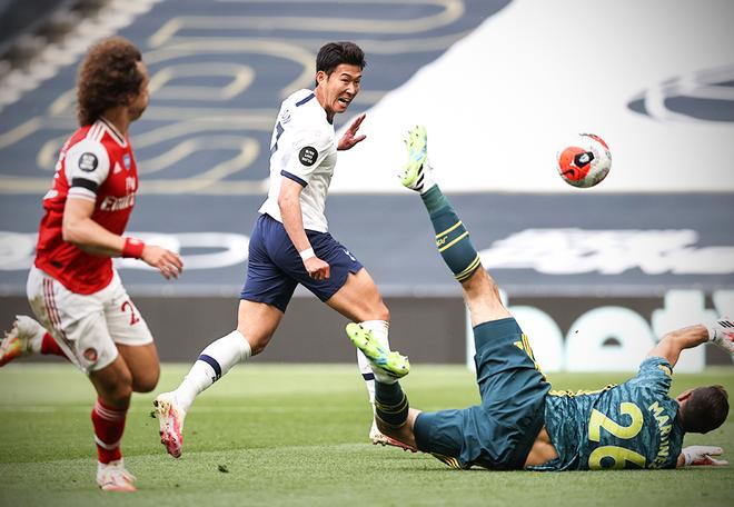 Kết quả vòng 35 Ngoại hạng Anh: Tottenham ngược dòng hạ Arsenal - ảnh 2