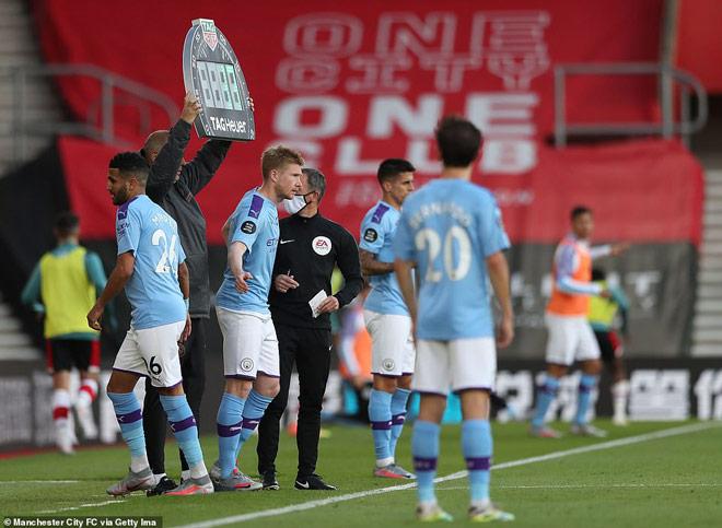 Video highlight trận Southampton - Man City: Siêu phẩm định đoạt, địa chấn khó tin - 3