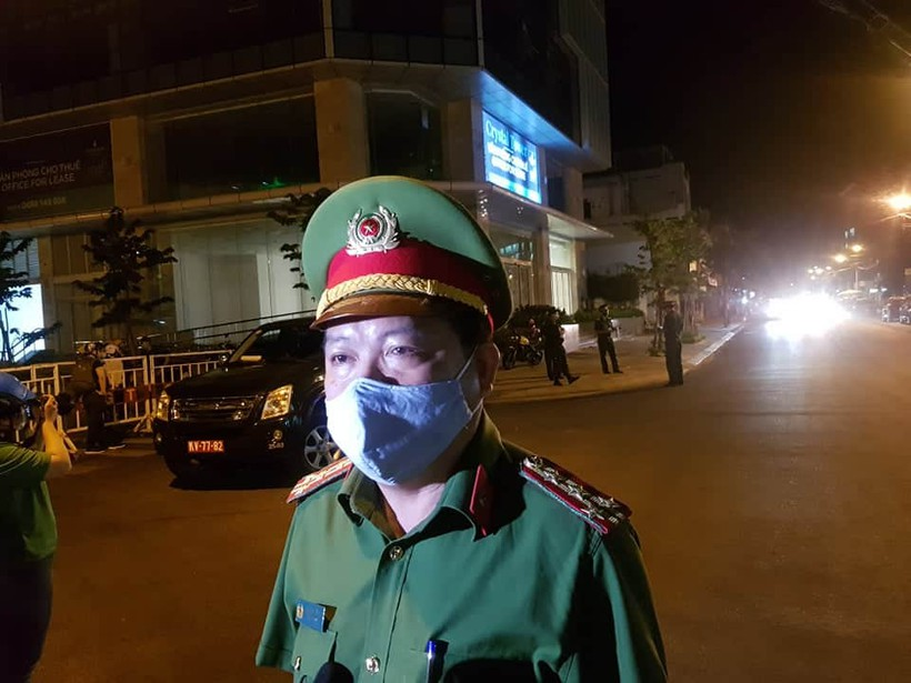 Đà Nẵng đã phong tỏa một số con phố - ảnh 4