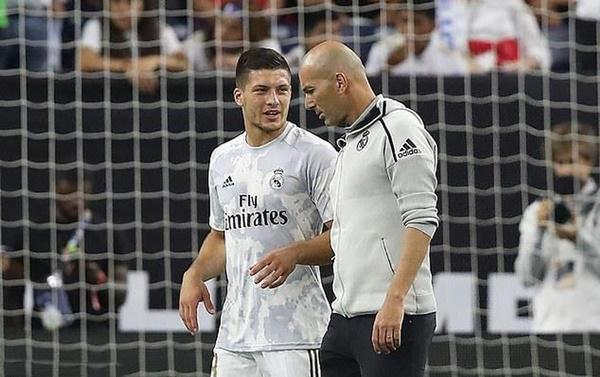 Zidane chốt lương lai Jovic - Bóng Đá