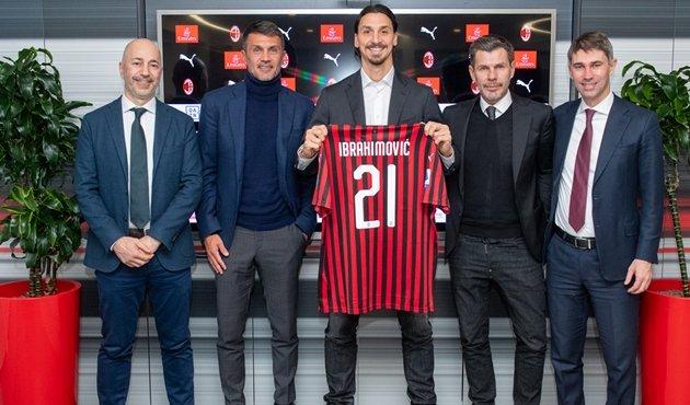 Ibrahimovic trở thành đại sứ của AC Milan sau khi giã từ sự nghiệp cầu thủ - Bóng Đá