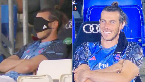 Bale trêu ngươi fan Real