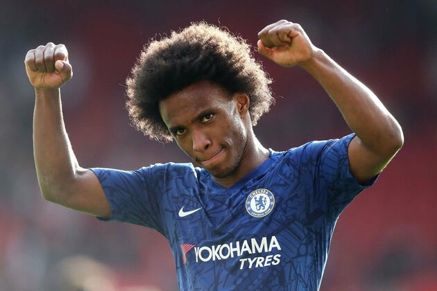 Arsenal in transfer talks with Chelsea ace Willian's agent as contract demand made - Bóng Đá