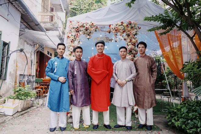 Cô dâu chú rể Cao Bằng mặc cổ phục Việt trong ngày cưới gây ấn tượng - ảnh 2