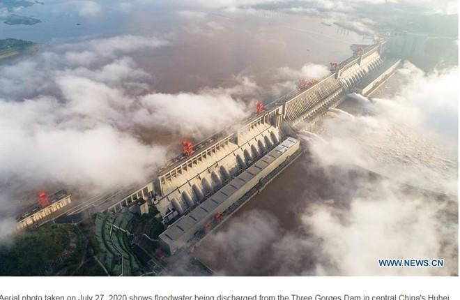 158 người chết do mưa lũ tại Trung Quốc - ảnh 1