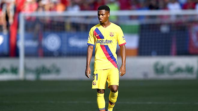 Barcelona, Chuyển nhượng Barcelona, Ansu Fati là tương lai của Barcelona, Messi, Ansu Fati, Ansu Fati kế vị Messi, Ansu Fati kế tục Messi, Bóng đá Tây Ban Nha, Cúp C1