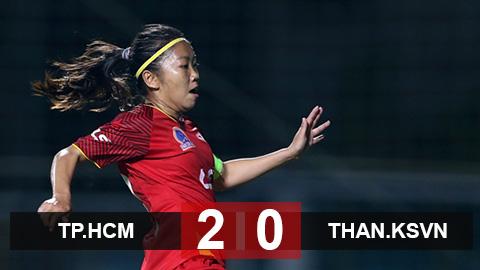 TP.HCM 1-0 Than.KSVN: TP.HCM vô địch Cúp Quốc gia nữ 2020