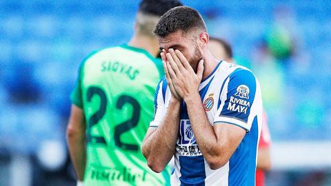 Bi kịch xuống hạng chờ đón Espanyol