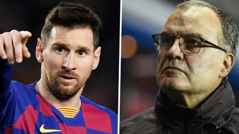 Messi muốn Bielsa về Barca thay cho Setien