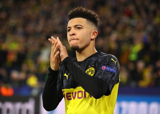 Borussia Dortmund will accept nothing less than 130m euros (£116m) for England winger Jadon Sancho - Bóng Đá