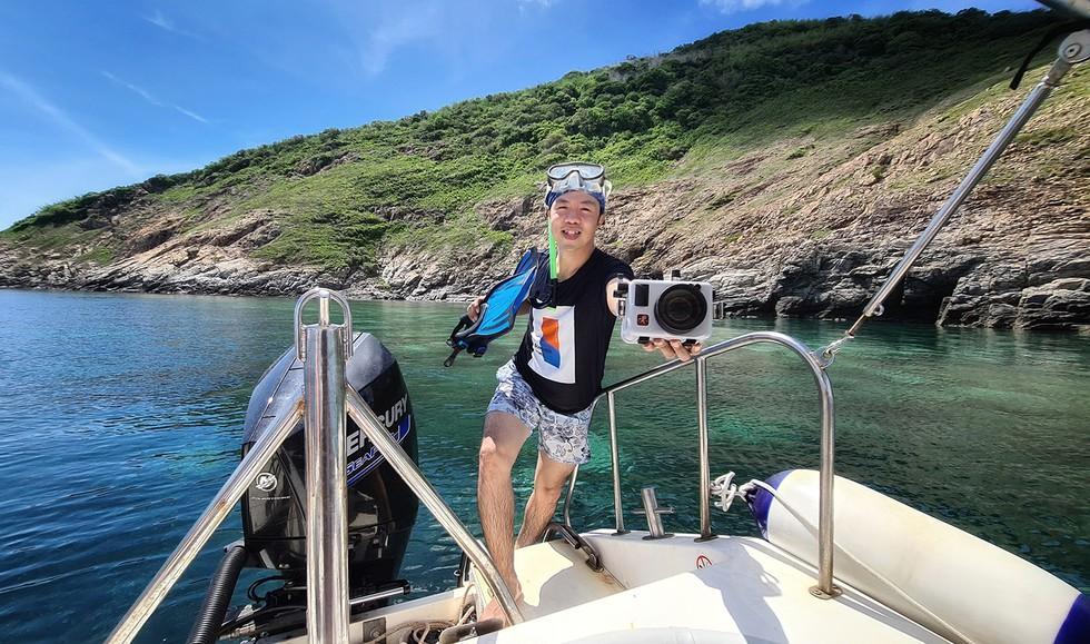 'Choáng' với cột san hô khổng lồ khi lặn biển ở Côn Đảo - ảnh 16