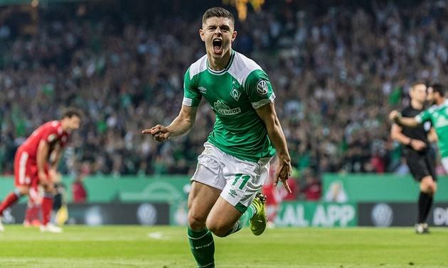 Werder confirm talks over Milot Rashica sale - Bóng Đá