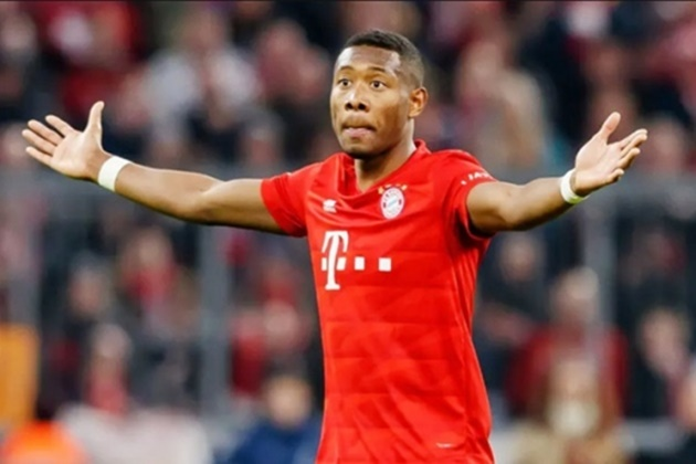 David Alaba not interested in move to Inter - Bóng Đá