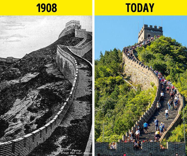 Loạt ảnh xưa và nay cho thấy các địa danh nổi tiếng thế giới đã thay đổi như thế nào trong vòng 1 thế kỷ qua - Ảnh 4.