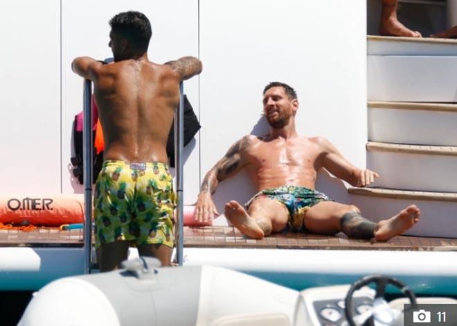 """La Liga hạ màn: Messi và dàn sao Barca - Real """"xả hơi"""" bên dàn mỹ nữ - 6"""
