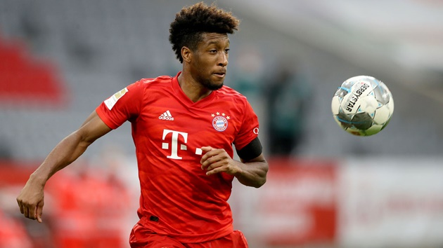 Bayern would reject any offers from Manchester United for Kingsley Coman - Bóng Đá