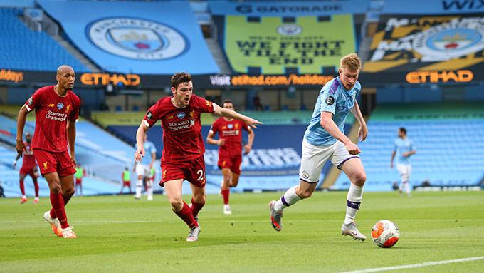 De Bruyne đã có một bài giảng mẫu cho Liverpool