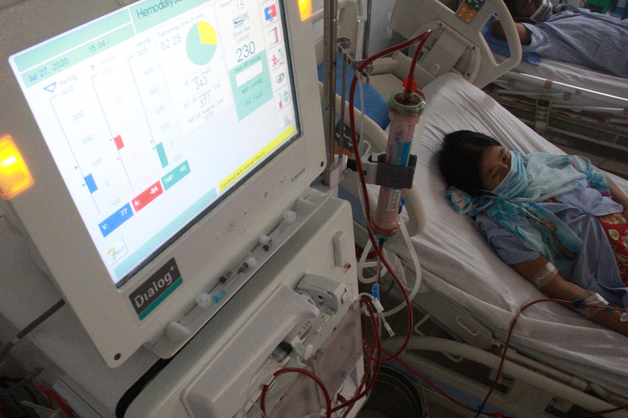 Chuyển người chạy thận Bệnh viện C Đà Nẵng sang Bệnh viện 199 - Ảnh 2.