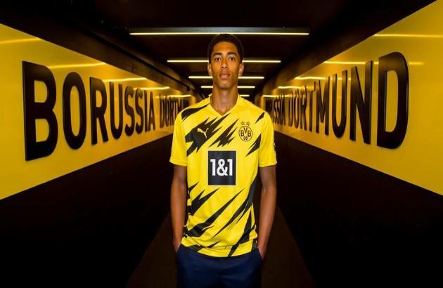 Dortmund signed Bellingham  - Bóng Đá