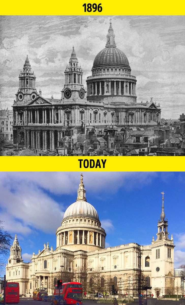 Loạt ảnh xưa và nay cho thấy các địa danh nổi tiếng thế giới đã thay đổi như thế nào trong vòng 1 thế kỷ qua - Ảnh 18.