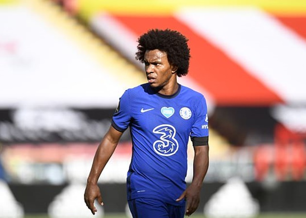 Willian insists Chelsea haven't been swayed by transfer interest from rivals including Arsenal & Man United - Bóng Đá