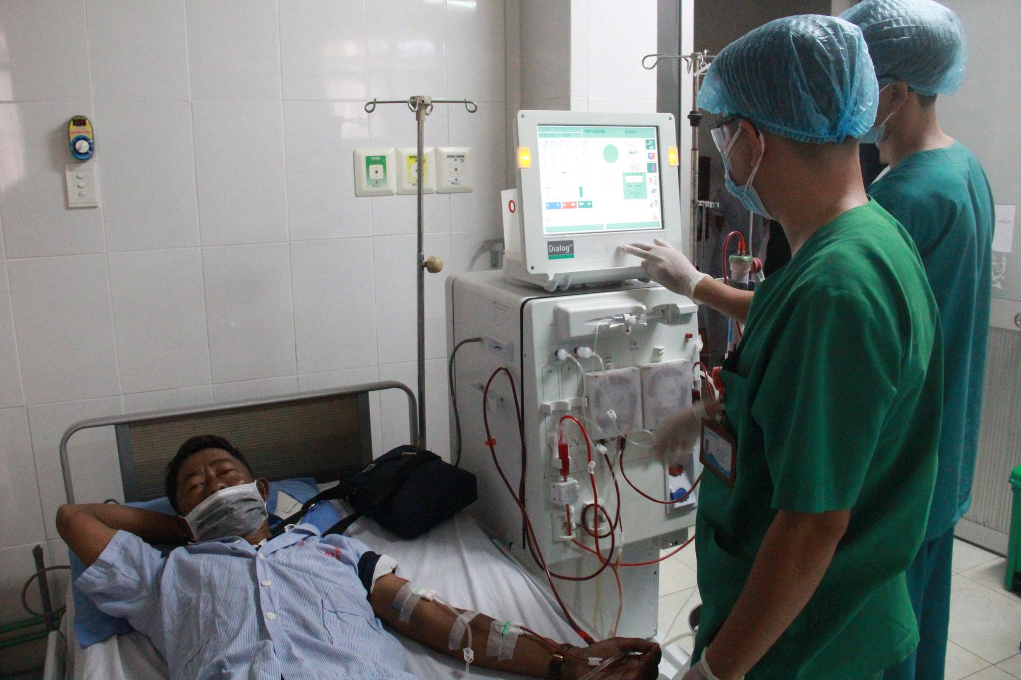Chuyển người chạy thận Bệnh viện C Đà Nẵng sang Bệnh viện 199 - Ảnh 3.