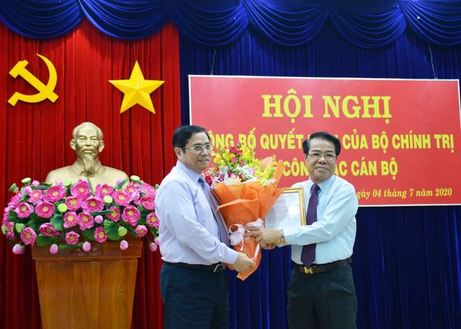 Ông Nguyễn Tiến Hải làm Bí thư Tỉnh ủy Cà Mau - ảnh 1