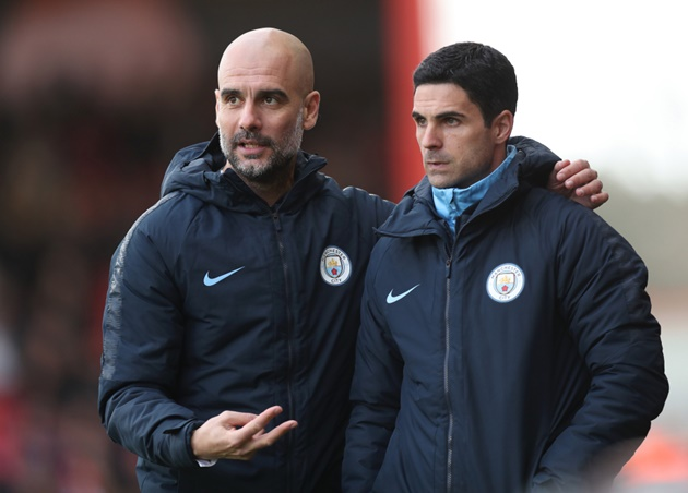 'They have something special already' – Pep Guardiola expects Arsenal to rise again under former Man City assistant Mikel Arteta - Bóng Đá
