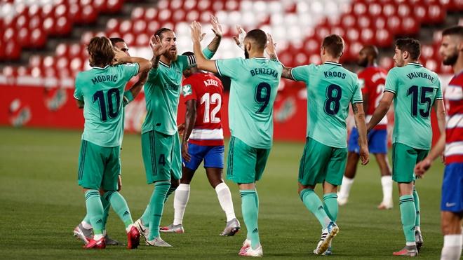 ket qua bong da, Granada vs Real Madrid, Real Madrid, kết quả bóng đá Tây Ban Nha, kết quả Liga, bảng xếp hạng bóng đá Tây Ban Nha, BXH Liga, Barcelona, Liga