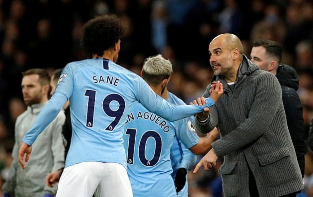Pep on Sane leaving for Munich - Bóng Đá
