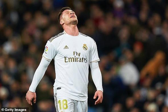 Real Madrid sẵn sàng chia tay Luka Jovic hình ảnh