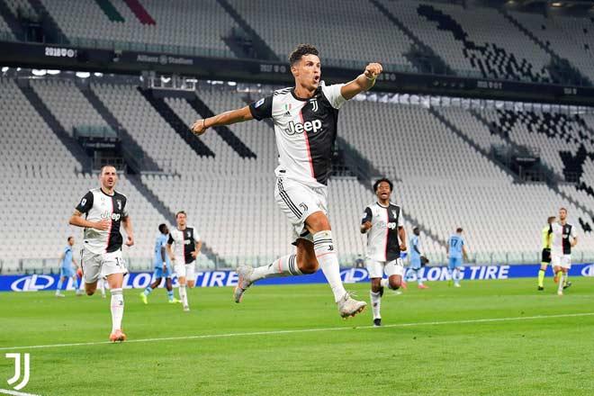 Ronaldo - Juventus thi đấu thăng hoa: Vô địch Serie A ngay tuần này? - 1